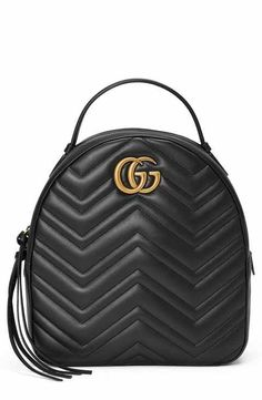 0e014c3721c9 Gucci GG Marmont Matelassé Quilted Leather Backpack Gg Marmont