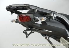 "R ""Tail Tidy"" fender eliminator kit for Kawasaki Versys"