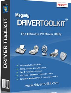 Get Driver Toolkit 8.5 License Key Keygen Crack with Email Free. Driver Toolkit 8.5 Crack is the best solution for outdated drivers of your PC or Laptop.