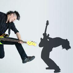 Vinilo decorativo Guitarrista de rock. Masquevinilo.com