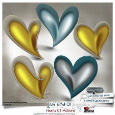 Hearts 01 - Actions by Eirene Designs cudigitals.com cu commercial scrap scrapbook digital graphics#digitalscrapbooking #photoshop #digiscrap #scrapbooking