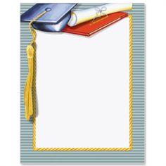 Graduate Letter Paper from Idea Art