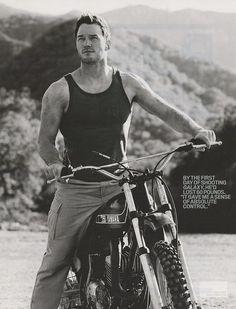 Welcome to the Chris Pratt gun show...