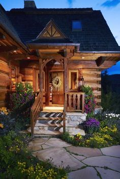 Native/wild flowers for rustic landscaping