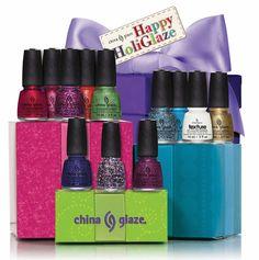 China glaze nail lacquer announces holiday nail art contest China Glaze Nail Polish, Nail Polish Art, Nail Polishes, Classy Outfit, Holiday Nail Art, Great Nails, Perfect Nails, Beauty Lounge, Dark Nails