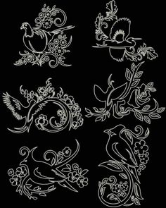 Advanced Embroidery Designs - Oriental Accents: Birds