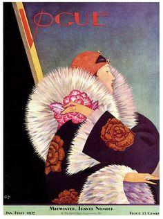 (Fayci Tage) Revista Vogue, 1927