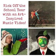 Art music videos to start off the year!