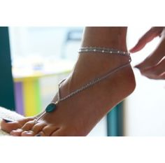 This toe ring anklet adds a touch of spunk and elegance. We're loving the combination of ring and anklet. http://www.ananasa.com/middle-toe-ring-and-anklet-in-one.html