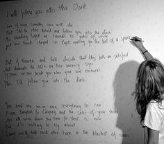 Death Cab lyrics