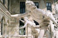 Sculptures in the Louvre √