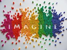 Imagine all the colors!