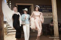 The Dressmaker  - Publicity still of Sarah Snook & Amanda Woodhams