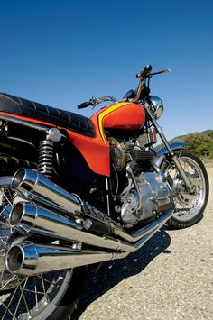 The 1973 Triumph X75 Hurricane. Photo by Gary Phelps, Motorcycle Classics January/February 2010.