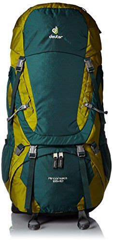 Deuter Aircontact 65 Forest//Moss 10 Hiking Rucksack