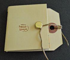 Diy back to school : DIY Make Hang Tag Notebooks