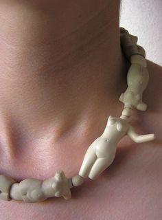 Julia Harrison Jewelry Art, Jewelry Accessories, Jewelry Necklaces, Jewelry Design, Fashion Jewelry, Ceramic Necklace, Pendant Necklace, Queens Jewels, Unusual Jewelry