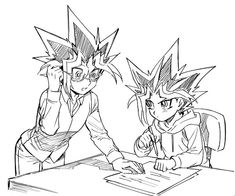 Yu-Gi-Oh! Cute Couple Comics, Couples Comics, Yu Gi Oh, I Love Anime, Me Me Me Anime, Yugioh Fanfiction, Yugioh Yami, Anime Ships, Doujinshi