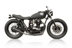 Deus Ex Machina, clean and beautiful! I love the seat too, it looks comfortable...