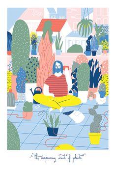 The Rest by Elda Broglio. Elda Broglio is an illustrator and designer born and raised in Buenos Aires. http://cargocollective.com/eldabroglio