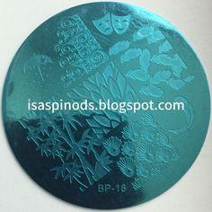 Placa BP-18 de la web http://www.bornprettystore.com/