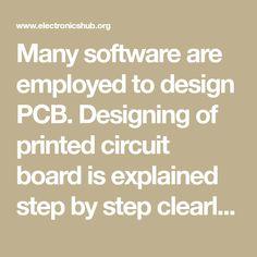 7 beste afbeeldingen van pcb design software in 2017 - Electronics
