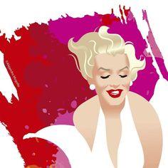 Marilyn Monroe by Alejandro Mogollo