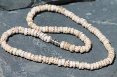Vintage 1970s Genuine Puka Shell Necklace via Etsy