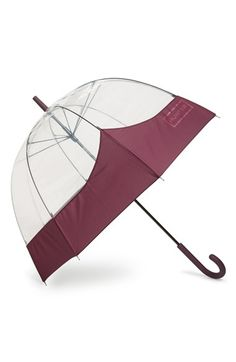 Free shipping and returns on Hunter 'Moustache' Bubble Umbrella at Nordstrom.com. Bold colored trim on the canopy forms the shape of the Hunter moustache on this large, transparent bubble umbrella that makes it easy to see your way in the rain.