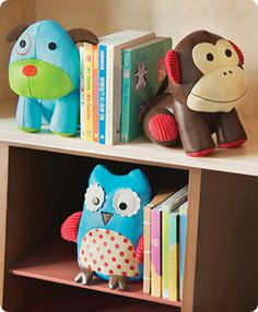 Great bookends for kids!