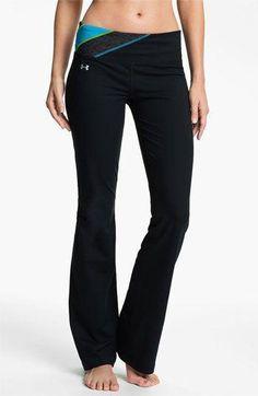 Under Armour 'Perfect Shape' Pants #underarmour http://www.FitnessGirlApparel.com