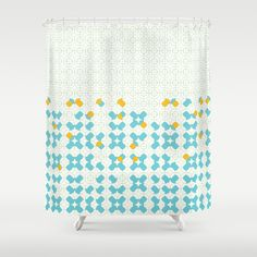 Pieces one Shower Curtain by Kira Seiler | Society6