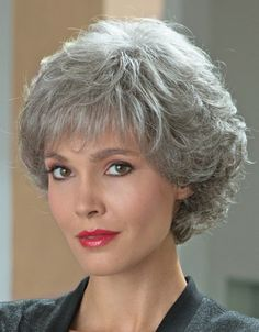 Basel Comfort Ladies Wig | Ellen Wille | Valentine Wigs | The synthetic fibres used gives this piece a natural glow, and you can easily achieve a timeless beauty with its curls and layers.  It's also a good choice for women experiencing hair loss because the wig's well defined curves will add volume to your hair.