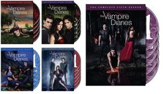Vampire Diaries Seasons 1-5 DVD