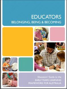 This guide is a handy tool for new educators to understand the EYLF. It breaks down terms and explains practices and principles. Cool Tools, Australia, Education, Learning, Studying, Teaching, Onderwijs