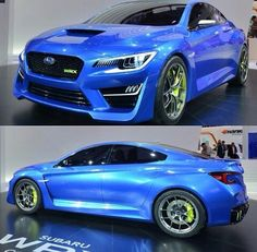 Subaru WRX 2015, i like the exterior but not so sure about the inside...