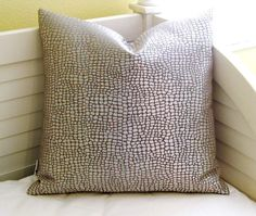 SewSusie Designs Designer Pillow Cover  Woven by SewSusieDesigns, $38.00
