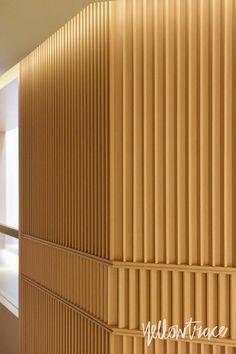 The Upper House Hong Kong. Interior Walls, Interior Lighting, Luxury Interior, Wood Slat Ceiling, Wood Paneling, Commercial Interior Design, Commercial Interiors, Screen Design, Wall Design