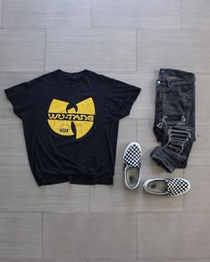 Casual Street Outfit for Men Dope Fashion, Fashion 101, Urban Fashion, Fashion Outfits, Outfits Hombre, Dope Outfits, Swag Outfits, Outfit Grid, Street Wear