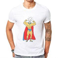Newest Brand Tshirts Men Clothing T-Shirt Muscle Man Printing T Shirt Short Sleeve Basic Tee Shirts Cool Tops Playeras De Hombre Muscle Man, Muscle T Shirts, Tee Shirts, Tees, Weightlifting, Bodybuilding, Connection, Printing, Short Sleeves