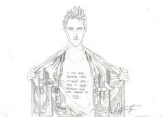 Este es otro ,idea marc silvestri ™ sketch by Sam Gonzalez .