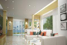 Thiết kế nội thất đẹp hiệu quả - thiết kế gian hàng hội chợ hiệu quả