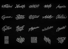 Lettering 2016. Vol.2 on Behance