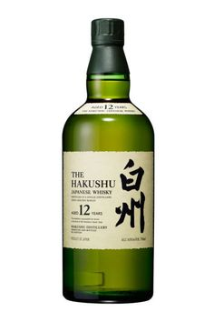 THE WHISKEY  Talk about getting his holiday spirits up.  Suntory Hakushu 12-Year Single Malt Japanese Whisky
