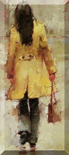 Andre Kohn - Gabardina amarilla