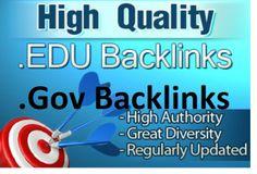I will get 40 edu gov dofollow backlinks god for  panda 4 for $5