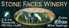 From the Winemakers that brought us Valiant Vineyards, Stone Face Winery is located near Hill City, SD. The winery offers all the same delicious wines that Valiant Vineyard offers but with the added bonus of the opportunity to visit the Black Hills and Sturgis.