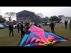 Meghalaya CM Dr. Mukul Sangma Enjoy Kite Flying With Mehul Pathak Kite C...