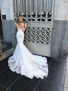Pallas Couture wedding gown: http://www.stylemepretty.com/2016/10/16/prettiest-wedding-dresses-fall-2017-bridal-week/ Courtesy: Pallas Couture - http://pallascouture.com/