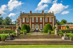 Cottesbrooke Hall, Northamptonshire, England | by rogbi200. Said to be the inspiration for Jane Austen's Mansfield Park. It was built in 1730 and has the greatest collection of sporting and equestrian art outside America